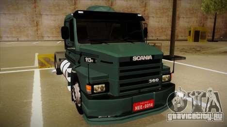 Scania 113H для GTA San Andreas вид слева
