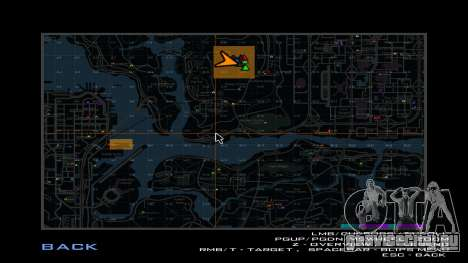 Карта квадратов для GTA San Andreas