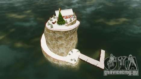 Рождественский остров для GTA 4