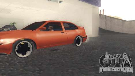Seat Cordoba SX для GTA San Andreas вид слева