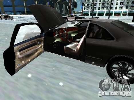 Lincoln Continental Mark VIII 1996 для GTA San Andreas вид сбоку