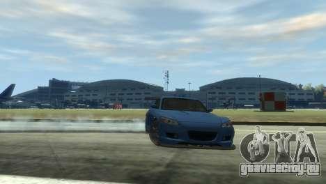 Mazda RX-8 R3 для GTA 4 вид сзади
