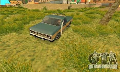 Bobcat Off-Road Броня для GTA San Andreas вид слева