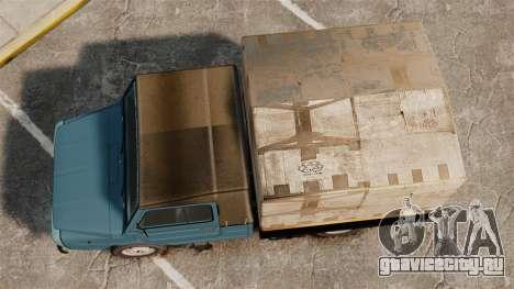 ЛуАЗ-13021 для GTA 4 вид справа