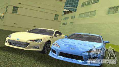 Subaru BRZ Type 3 для GTA Vice City вид слева