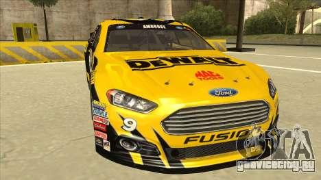 Ford Fusion NASCAR No. 9 Stanley DeWalt для GTA San Andreas вид слева