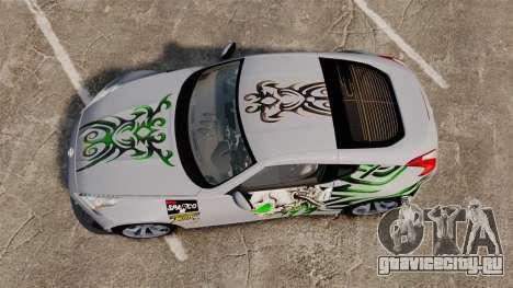 Nissan 370Z для GTA 4 вид справа