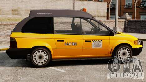 Улучшенное такси для GTA 4 вид слева