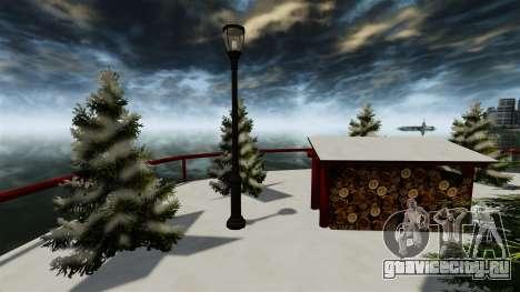 Рождественский остров для GTA 4 пятый скриншот