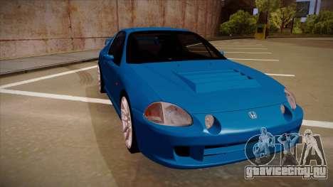 Honda CRX Del Sol для GTA San Andreas вид слева