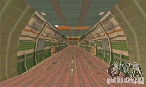 Andromada GTA V для GTA San Andreas вид сбоку