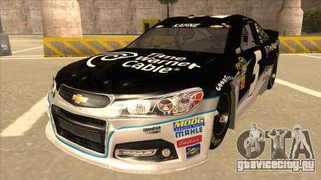 Chevrolet SS NASCAR No. 5 Time Warner Cable для GTA San Andreas