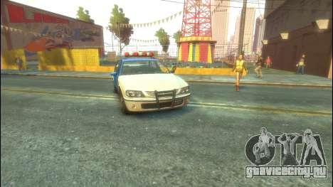 Police из GTA 5 для GTA 4 вид слева
