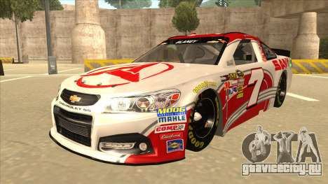 Chevrolet SS NASCAR No. 7 Sany для GTA San Andreas