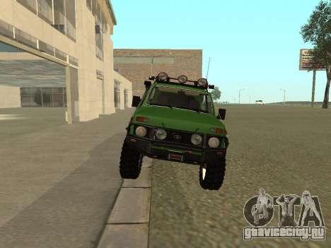 ВАЗ 21213 нива 4x4 Off Road для GTA San Andreas вид справа