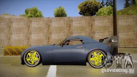 Pontiac Solstice Rhys Millen для GTA San Andreas вид сзади слева