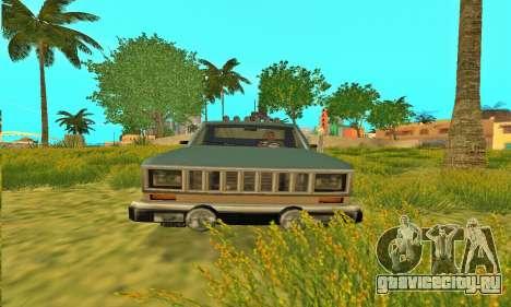 Bobcat Off-Road Броня для GTA San Andreas вид изнутри