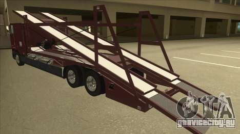 International 9700 Car Hauler для GTA San Andreas вид сзади