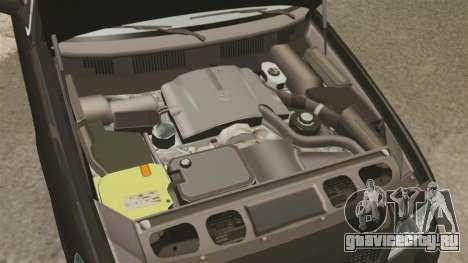 Ford Crown Victoria 2008 FBI для GTA 4 вид изнутри