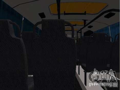 ПАЗ 32053-70 Школьный для GTA San Andreas вид сзади