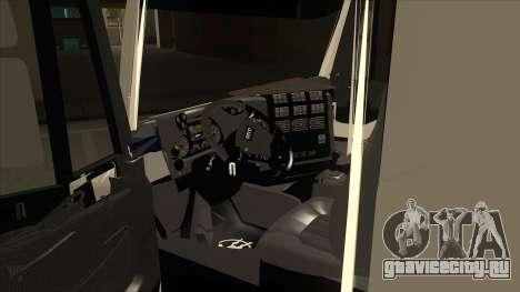 Iveco Hi-Land Самосвал для GTA San Andreas вид изнутри