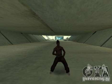 Сleo Танцы для GTA San Andreas второй скриншот