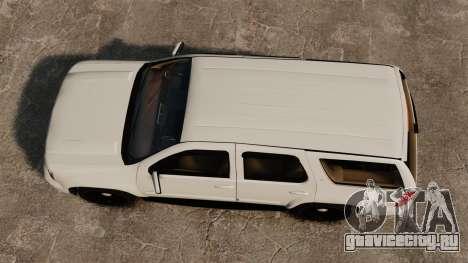Chevrolet Tahoe Slicktop [ELS] v1 для GTA 4 вид справа