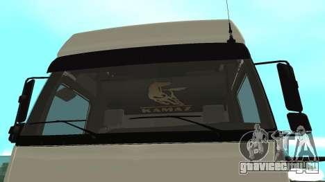 КамАЗ 5490 для GTA San Andreas вид справа