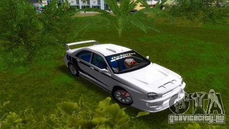 Subaru Impreza WRX v1.1 для GTA Vice City