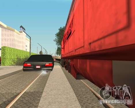 Тонированный премьер V2 для GTA San Andreas вид слева