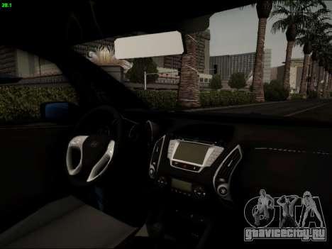 Hyundai ix20 для GTA San Andreas вид сбоку