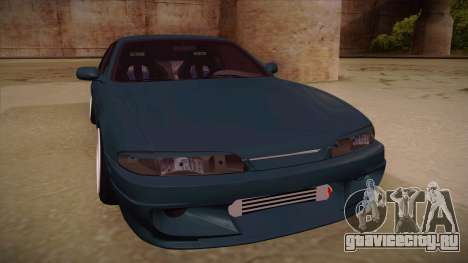 Nissan Silvia S14 Zenki для GTA San Andreas вид слева