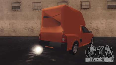 Chevrolet Montana Combo для GTA San Andreas вид сбоку