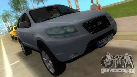 Hyundai Santa Fe 2006 для GTA Vice City