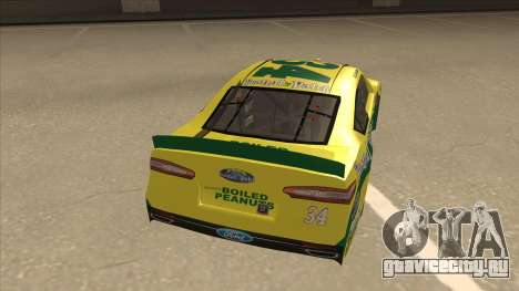 Ford Fusion NASCAR No. 34 Peanut Patch для GTA San Andreas вид справа