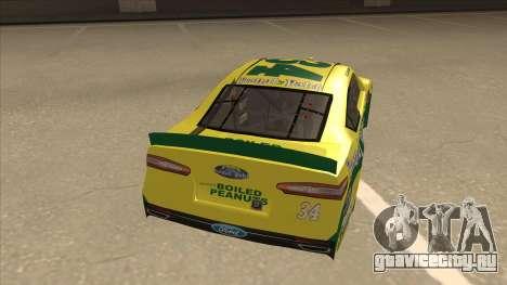 Ford Fusion NASCAR No. 34 Peanut Patch для GTA San Andreas вид справа
