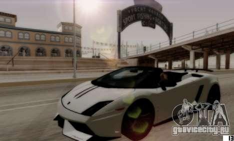 ENB VI для Low PCs для GTA San Andreas четвёртый скриншот