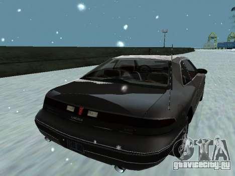Lincoln Continental Mark VIII 1996 для GTA San Andreas двигатель