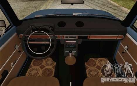 ВАЗ 21011 Аэрофлот для GTA San Andreas вид изнутри