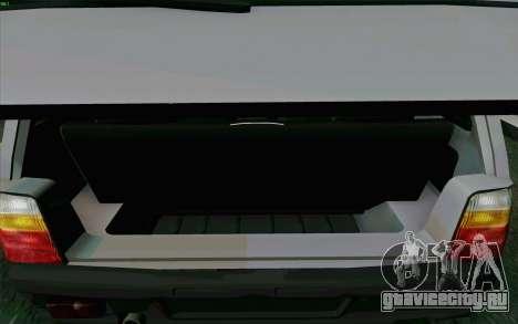 КамАЗ Ока для GTA San Andreas вид снизу