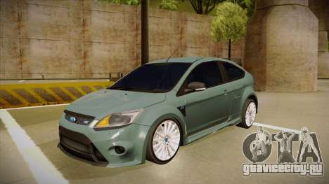 Ford Focus RS 2010 для GTA San Andreas