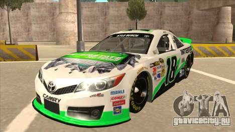 Toyota Camry NASCAR No. 18 Interstate Batteries для GTA San Andreas