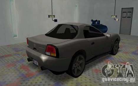 MX2000 из Driver Parallel Lines для GTA San Andreas вид сзади слева