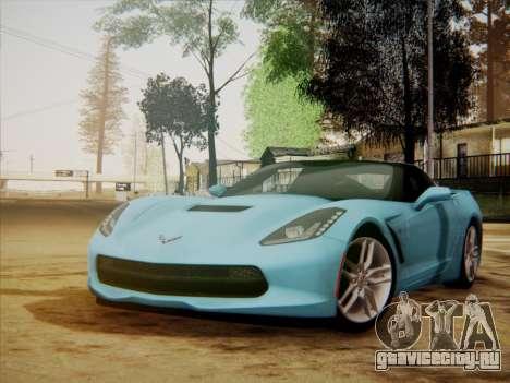Chevrolet Corvette C7 Stingray 2014 для GTA San Andreas