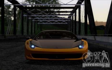 Ferrari 458 Italia Novitec Rosso Carbon для GTA San Andreas вид справа