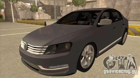 Volkswagen Passat 2.0 Turbo для GTA San Andreas
