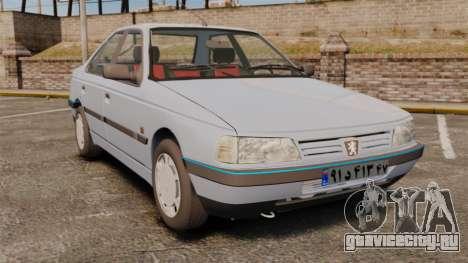 Peugeot 405 GLX Final для GTA 4
