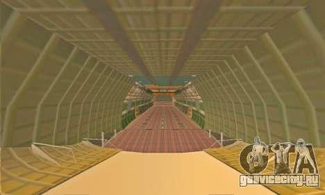Andromada GTA V для GTA San Andreas вид сверху