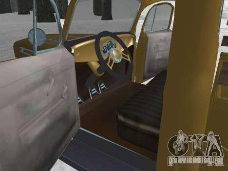Ford Frieghter 1949 для GTA San Andreas вид справа