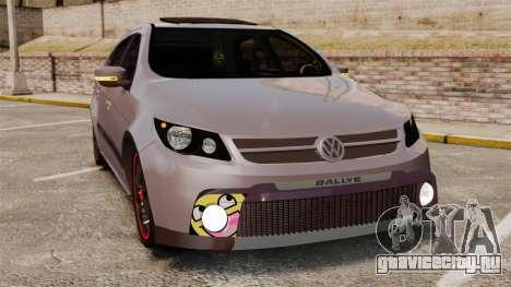 Volkswagen Gol Rally 2012 Socado Turbo для GTA 4